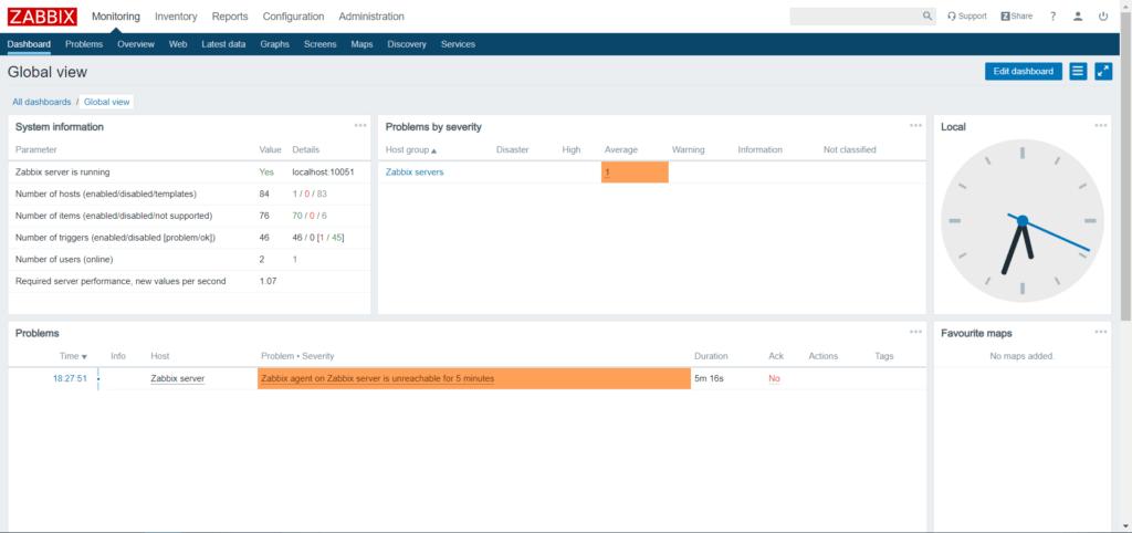 《Zabbix 4.0 安装教程》